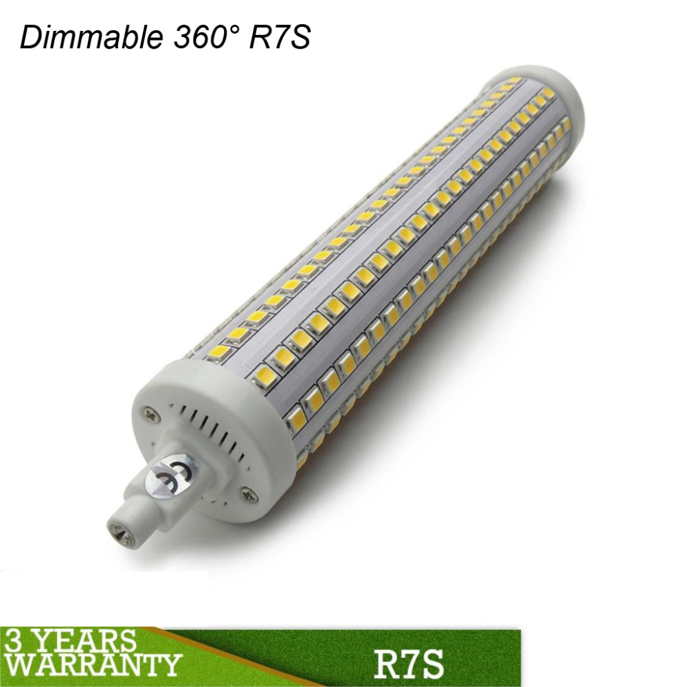 Buy dimmable r7s led light 118mm 10w 78mm for Lampadine led r7s