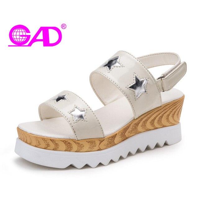 Nouvelle Plateforme d'été d'or semelles épaisses sandales 3RmOQQLjs