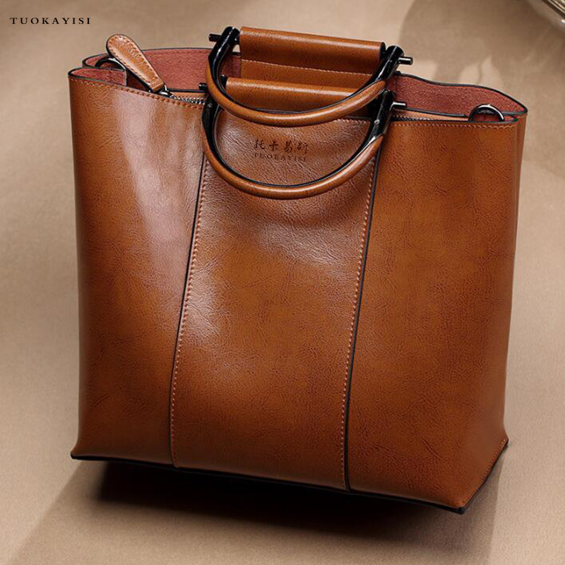New Women Leather Handbags Simple Larger Capacity Leather Lady Shoulder bag HandBags Travel Bag Casual Women atmosphere fresh classic lively women bag special design new simple winter larger capacity leather women bag messenger as perfect gift m16