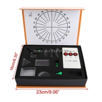 Optical Equipments Experiments Concave Convex Lens Prism Set Physical Optical Kit Laboratory Equipment H028
