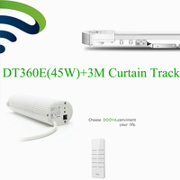 Broadlink DNA Dooya Electric Curtain Motor WIFI + 3M top quality super quite Customizable Electric Curtain Track Rails