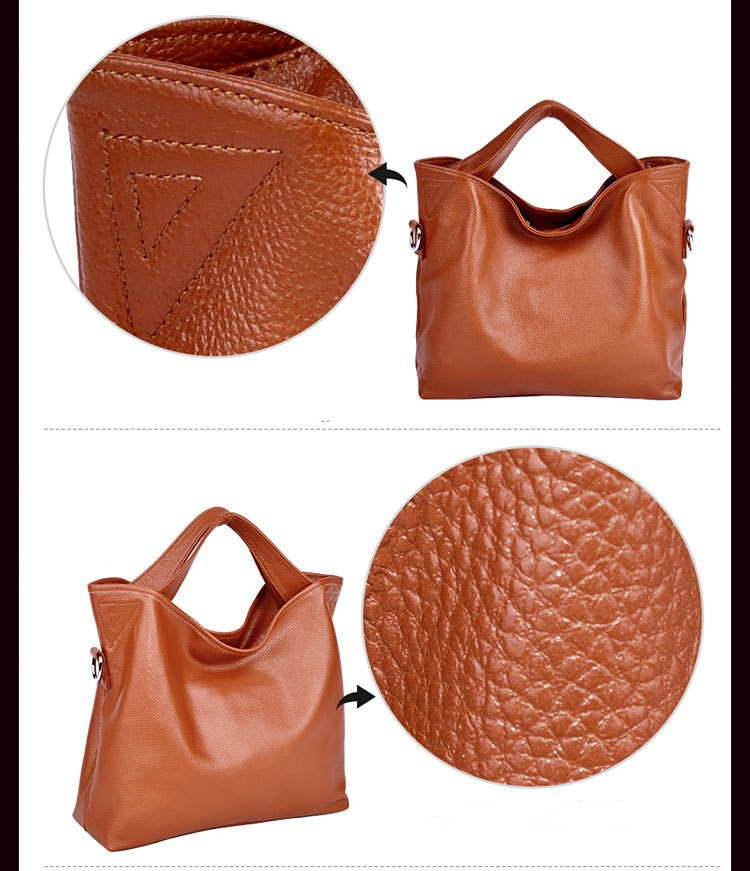 genuine leather bag female 5