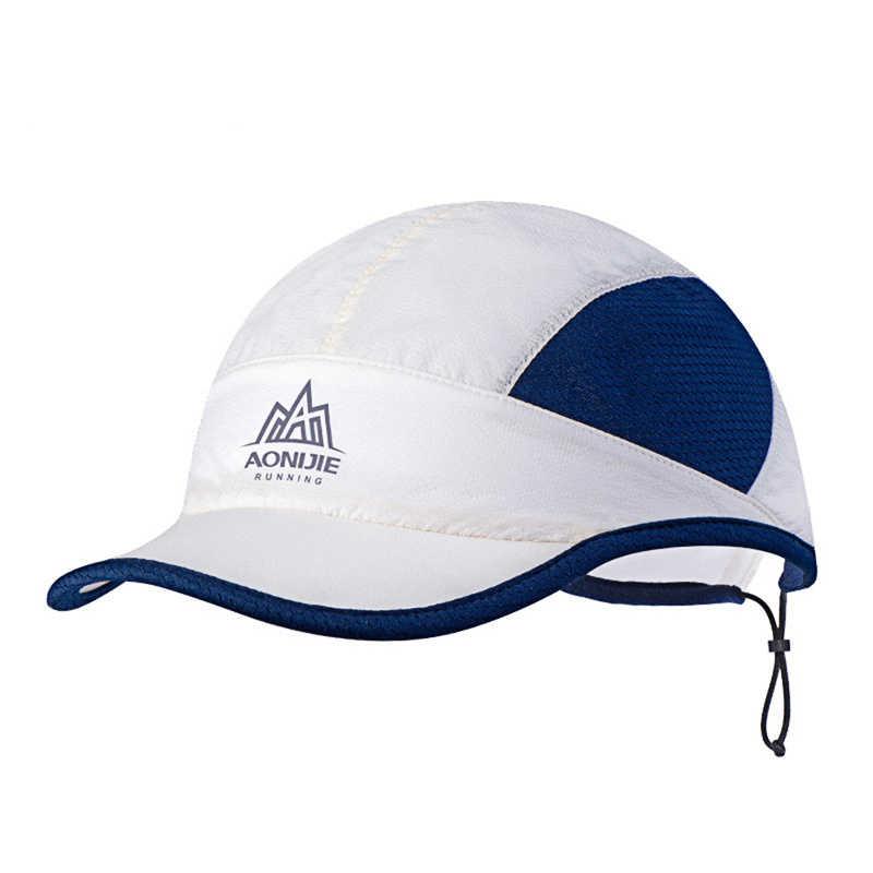 في الهواء الطلق واقية من الشمس قبعة رياضية النايلون الصيد تشغيل الشمس قناع أفضل قبعة الصيف قابل للتعديل Drawcord مكافحة الأشعة فوق البنفسجية خفيفة الوزن قبعة الجولف