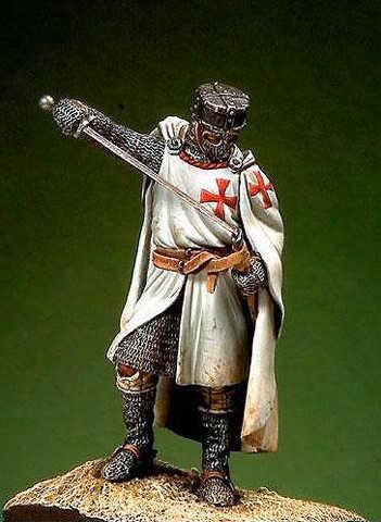 54mm Knight Templar XIII Cent