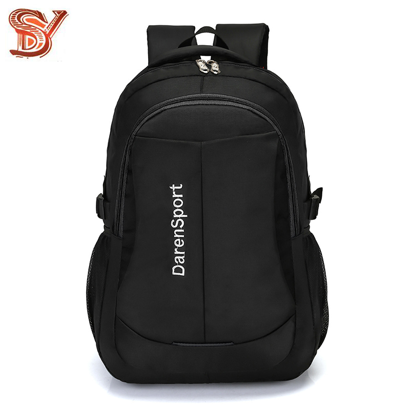 Men Travel Backpack Male High Quality Waterproof Oxford Male Laptop Bag Trendy Business Backpack Casual Black Travel Bag