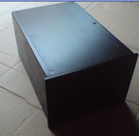 купить Black All aluminum power box / AMP shell / amplifier chassis / DIY case (200 * 135 * 308mm) по цене 3137.4 рублей