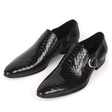 Brand New 2019 Genuine Leather Loafers Shoes Luxury Party Wedding Men Shoes Pointed Toe Slip On Male Shoes Handmade JS-A0020 цена в Москве и Питере