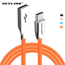 VOXLINK Zinc Alloy USB Type C USB C Data Sync Charger Cable for Macbook/Lumia 950 950XL/Oneplus 2 3/Xiaomi Mi4C mi5/ZUK Z1/HTC10
