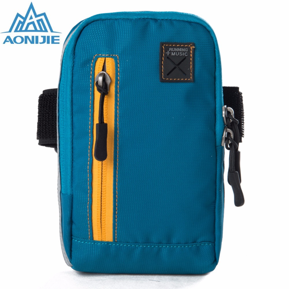 AONIJIE High Quality <font><b>Arm</b></font> <font><b>Bags</b></font> For Outdoor Running Coins Purse Sports <font><b>Phone</b></font> <font><b>Mobile</b></font> Wallet Key Package With <font><b>Arm</b></font> Shoulder Strap