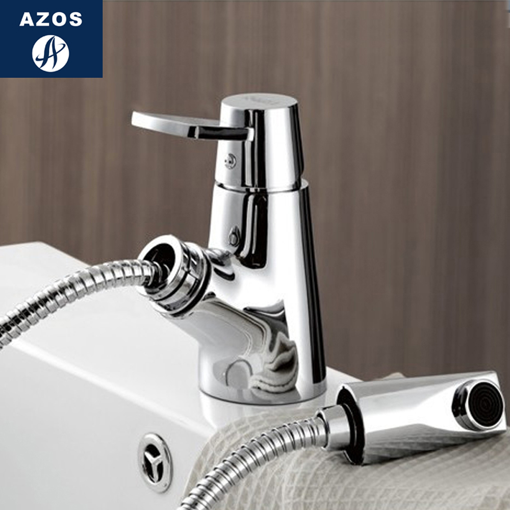 Modern Bathroom Faucet Pull Out Shower Head Nozzle Single Handle Swivel Spout Vessel Sink Mixer Tap Chrome Polish CLMP008Z free shipping high quality chrome brass kitchen faucet single handle sink mixer tap pull put sprayer swivel spout faucet