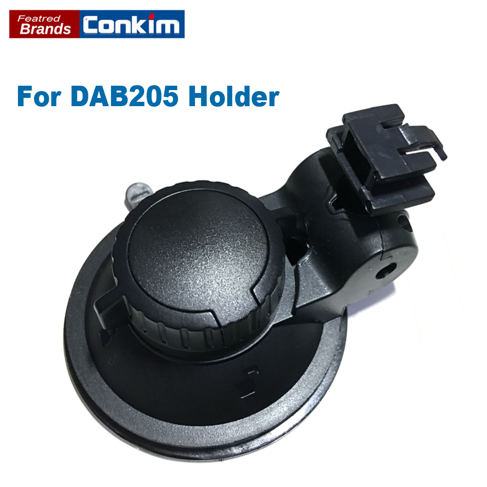 Conkim 360 degree Rotating Car DVR DAB205 Windshield Suction Cup Mount Holder ABS Driving Recorder Bracket Free shipping!! send ems ups dhl 98