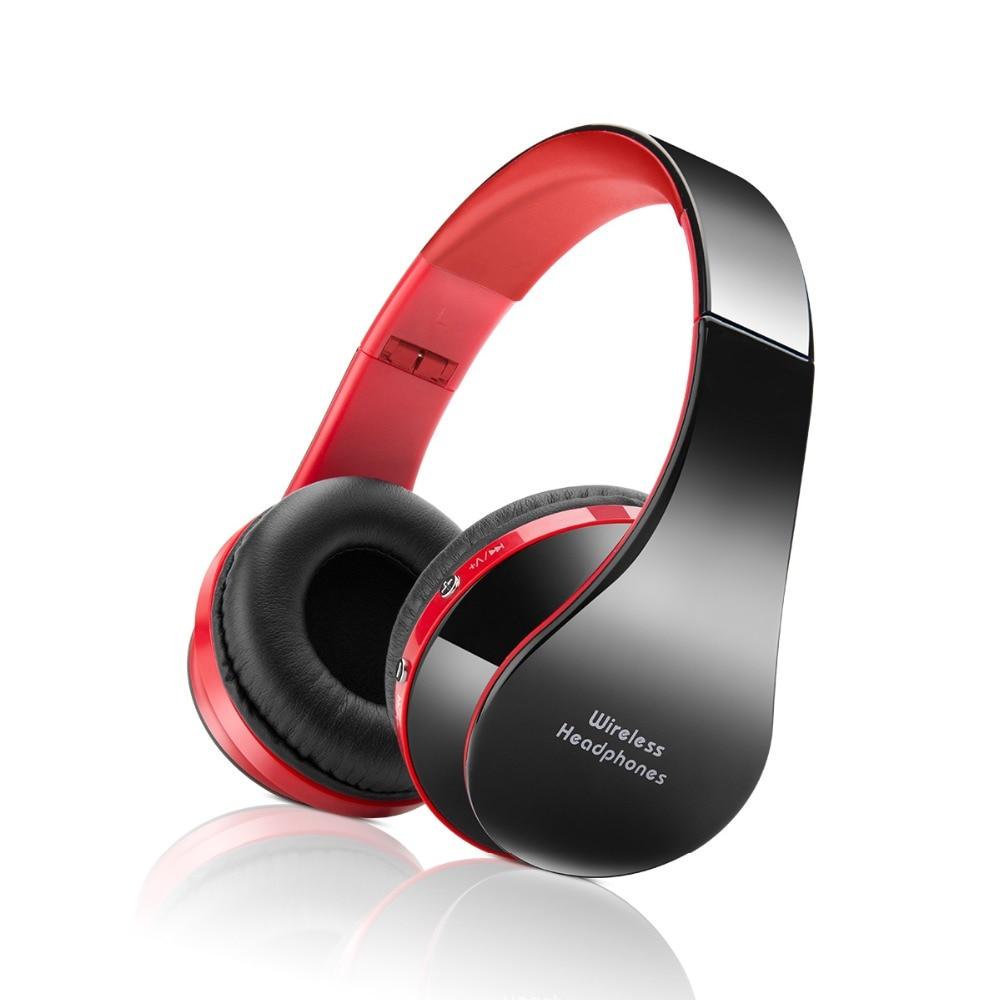 Wireless Bluetooth Headset Headphones Stereo Foldable Sport Earphone Bluetooth Earphone Microphone Headset And Earhook 2