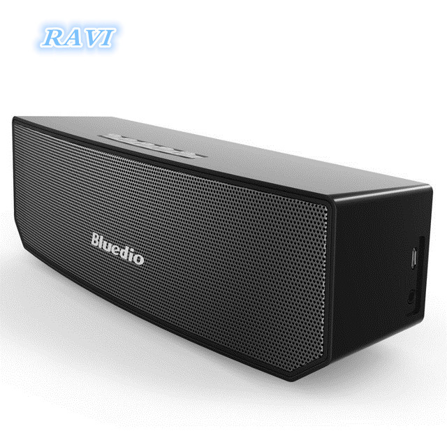 Mini Bluedio BS-3 Subwoofer Bluetooth Haut-Parleur De Voiture Subwoofer Portable Sans Fil Bluetooth Réaliste 3D Stéréo Surround Sound
