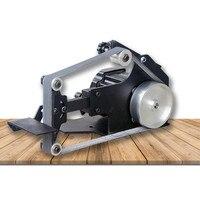 220 V Настольный ленточный шлифовальный станок DIY работа по дереву полировка машина 0 7500 об/мин 762x25 мм ленточный станок