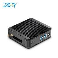XCY 2016 Fanless Mini Desktop PC Core I3 4010Y Core I5 4210Y 1 5GHZ Dual Core