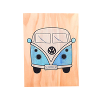 Nordic Cartoon Car Woodblock Print Wall Art Wall Pictures For Living Room Creative Paintings Decoration Salon Kid'S Room Decorat