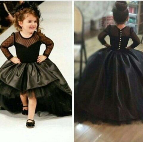New Style   Flower     Girl     Dresses   2017 Luxury Ball Gown Kids Gown Lovely   Girls   Pageant   Dresses   vestido de festa de casamento
