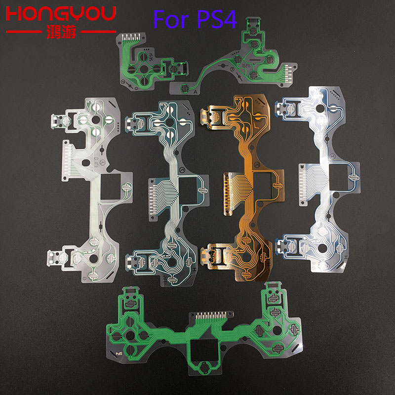 For ps4 controller conductive film flex cable high quality for ps4 joystick repair part(China)