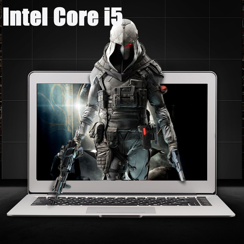 13.3inch i5 CPU Aluminum Body 4GB RAM 128GB SSD 1920*1080P IPS Screen Windows 10 System Fast Boot Laptop Notebook Computer 2g ram 64g ssd 11 6 inch rotating and touching hd screen 2 in 1 windows 8 or 8 1 system laptop computer netbook for office
