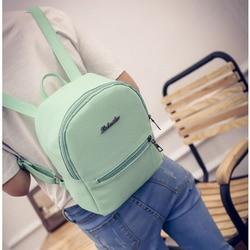 Kobiety mini plecak college mochila mujer mochilas infantil menina plecak szkolny torby dla femme bolsos sac dos mały plecak 5