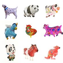 Baby Shower Cartoon Dog Kangaroo Horse Panda Balloons Foil Balloons Kids Birthday Party Decoration Gifts For Kids 1 PC 10 Style(China)