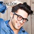Gafas de equipo Anteojos Transparentes para Las Mujeres Hombres Montura de gafas Gafas De Grau Lente Transparente Moda W/Goldish Trabajos de Revestimiento