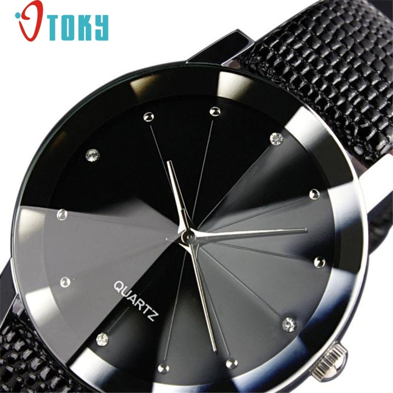 Hot hothot men watch Luxury Quartz Sport Military Stainless Steel Dial Leather Band Wrist Watch Dropshipping FF hot hothot sales colorful boys girls students time electronic digital wrist sport watch free shipping at2 dropshipping li