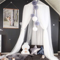 Beautiful Baby Room Decor Wall Fantasy Hanging Mantle Nets Tents Kids Bedroom Decorations Photography Props Best Child Gifts
