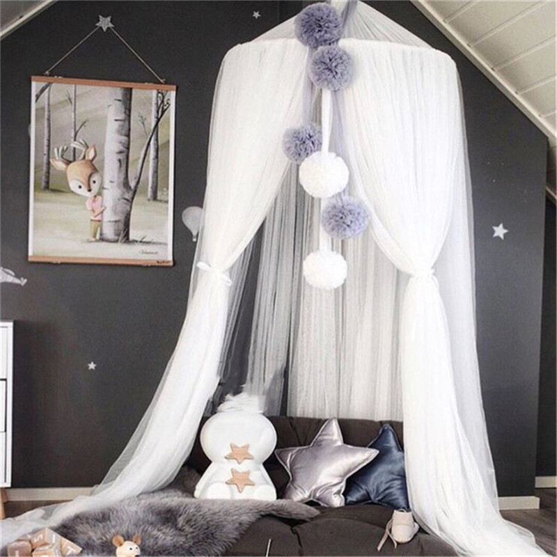 Belle Bébé décor de chambre Mur Imaginaire Suspendu filets mantellaires Tentes Enfants Lit décor de chambre ations Photographie Props Meilleur cadeaux pour enfant