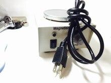 MIni Magnetrührstab Platte Nicht Heizung mit Halter Magnetismus Mixer für Labor bierbrauen