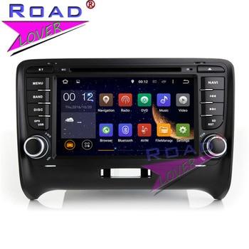 TOPNAVI 4G + 32 GB nuevo Android 8,0 Octa Core coche Multimedia reproductor de DVD de vídeo para Audi TT estéreo navegación GPS de doble Din MP3