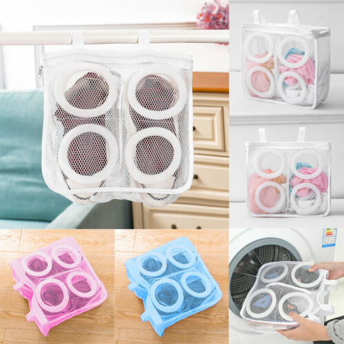 Shoes Laundry Bags Hanging Mesh Laundry Wash Home Storage Organizer Accessories
