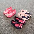 Лето Мини sed Новых сапоги Девушки сандалии Детская обувь для девочек Корейский лук Сандалии желе голова рыбы Сапоги Детская Одежда обувь