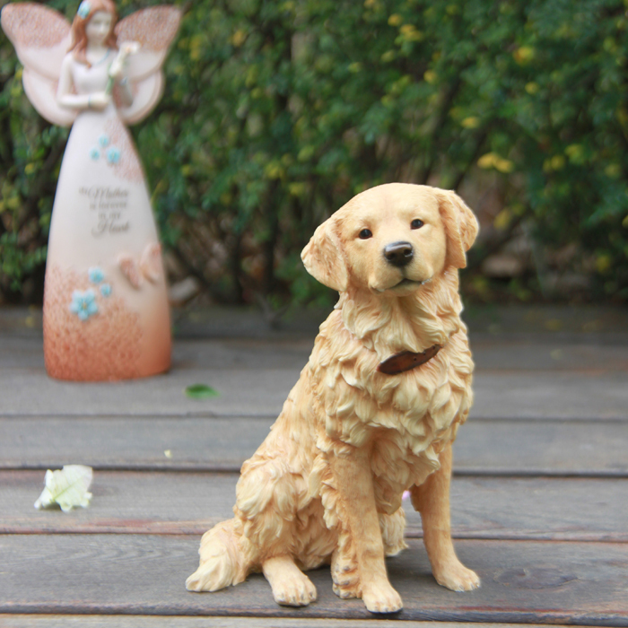 Charmant Resin Realistic Golden Retriever Statue Home Decoration On Aliexpress.com |  Alibaba Group