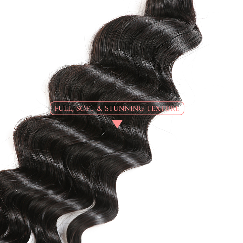 Image 4 - 3Pcs 10A Brazilian Natural Wave Hair Weave Bundles Natural Color Human Hair Ali Queen Hair 8 30inch Mix Length Virgin Hair-in 3/4 Bundles from Hair Extensions & Wigs