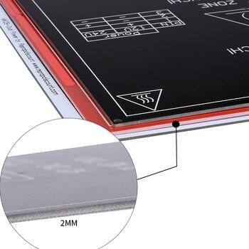 25pcs/lot New RepRap 3D Printer PCB Heatbed MK2B Heated Bed Hot Plate For Mendel 3d printer parts BT0026-3D