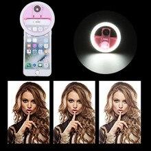 USB LED Schönheit Füllen Licht Ergänzende Beleuchtung Nacht Dunkelheit Selfie Verbesserung für handy kostenlos Selfie Ring Licht ringlight