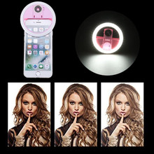 Usb led美容補助光補助照明夜の暗闇selfie強化電話料金のselfieリング光リングライト