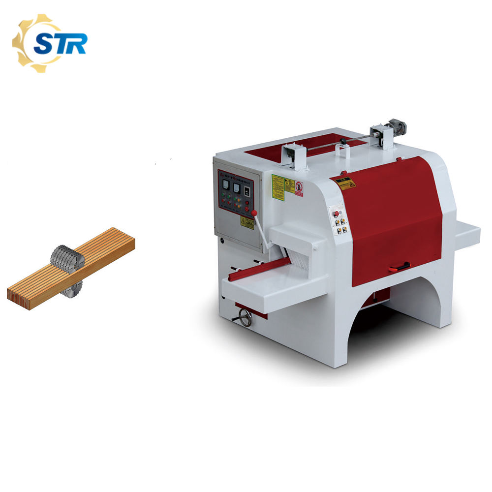 High Quality Multi Blade Saw Machine For Wood Working With Circular Saw