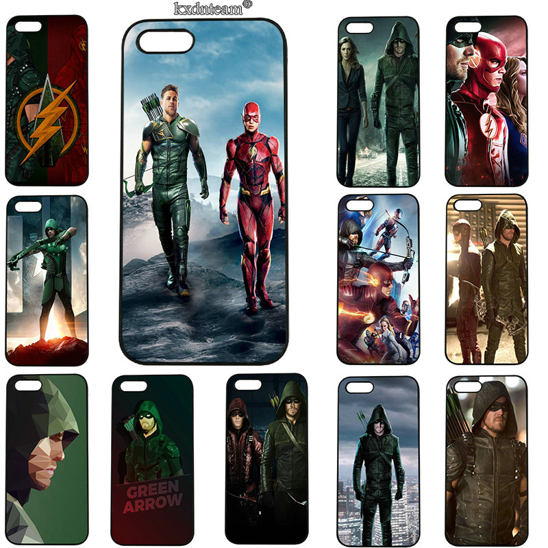 American Tv Series Green Arrow Mobile Phone Cases Hard PC Cover for iphone 8 7 6 6S Plus X 5S 5C 5 SE 4 4S iPod Touch 5 6 Shell