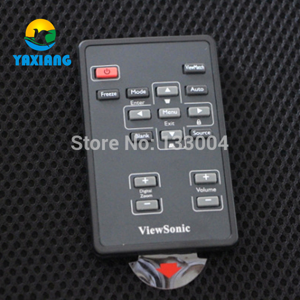 Wholesale Projector Remote Control for Viewsonic projectors PJD-5112 PJD-5122 , ETC wholesale for new projector light tunnel fit mp625 projectors