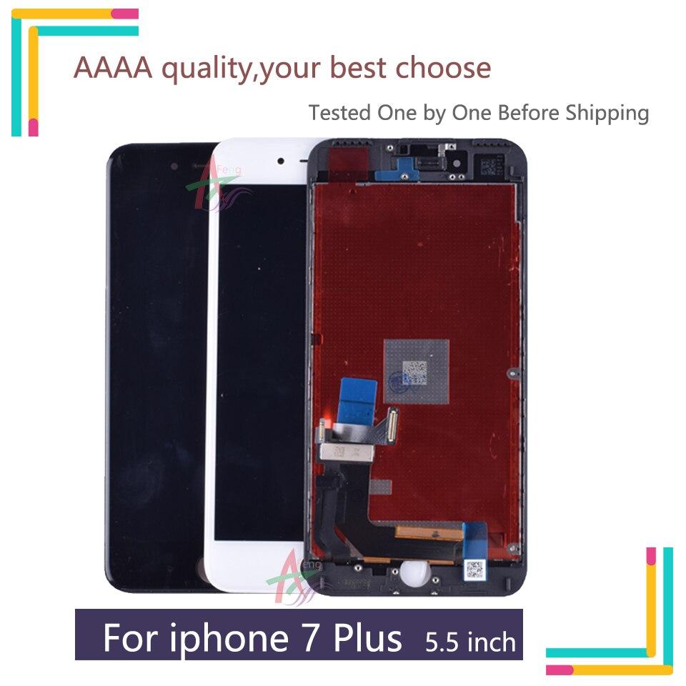 Nouveau pour iphone 7 Plus LCD complet pour iphone 7 Plus écran LCD écran tactile numériseur assemblée remplacement 3D tactile