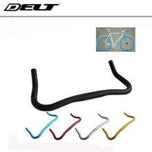 5 colors Fixed Gear Bullhorn Bar Handlebar 25.4 * 22.2 * 420 mm Aluminum Bent Bike