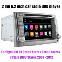 Android 6.0 Quad Core Car DVD GPS For Hyundai H1 Grand Starex Grand Starex Royale i800 Starex 2007 2012 Multimedia