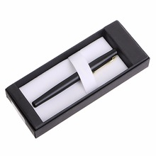 High Quality Black Fountain Pen 22KGP M Nib Set New