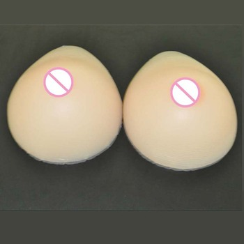 1 pair 800g 36C Cup ivita silicone breast prosthesis Artificial Boobs Tits for vagina transgender Bra pads crossdresser vagina