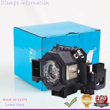 Free Shipping ELPLP42/V13H010L42 Projector Lamp with Housing For EPSON EMP-400W EB-410W EB-140W EMP-83H PowerLite 822p EMP-400e