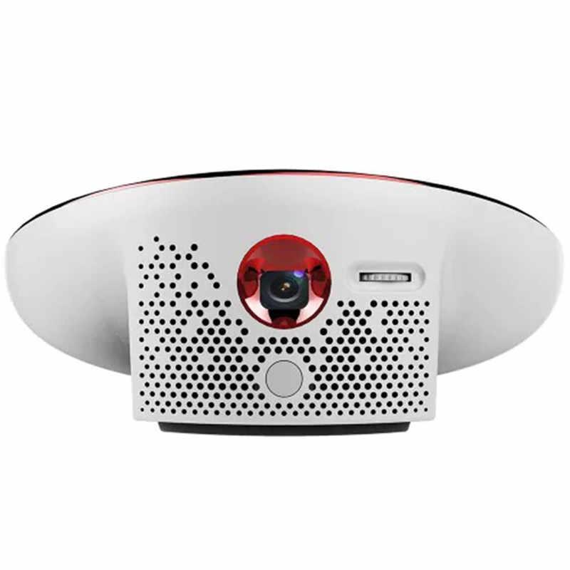 2019 Новое поступление N3 Мини проектор для домашнего Театр Поддержка в формате 4 K UHD, 2000 люмен НЛО Форма и Hi-Fi Динамик OSRAM Источники питания