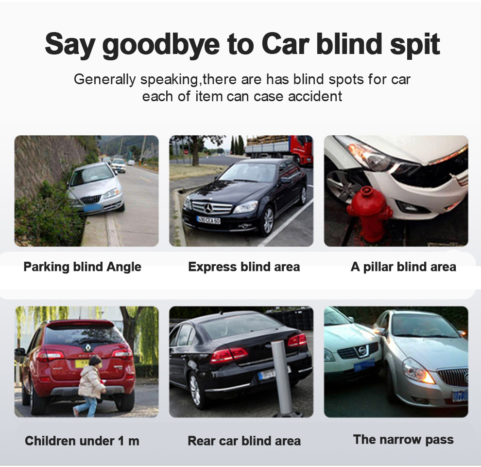 Panoramic Rearview Camera 360 Degree Parking System Auto Car Camera All Round Night Vision Waterproof Reverse Camera De Recul (1)