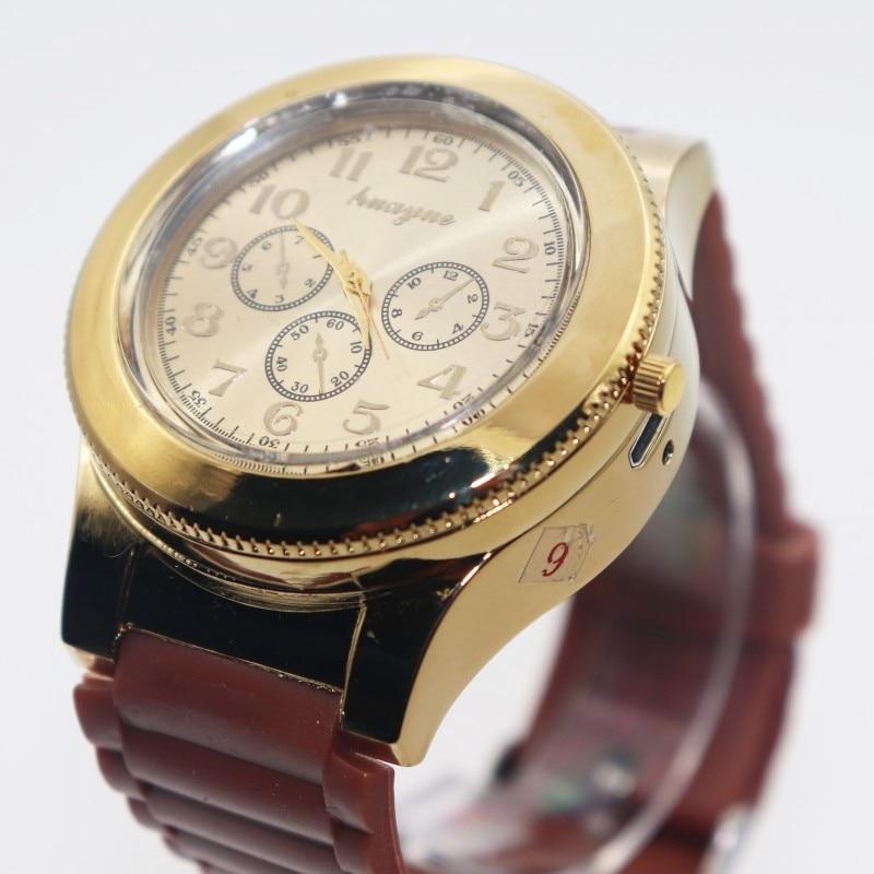 Caliente Moda Casual Deporte Reloj de pulsera USB Encendedor Relojes - Relojes para hombres - foto 6